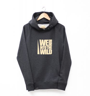 SUDADERA CAPUCHA WE RUN INTO THE WILD