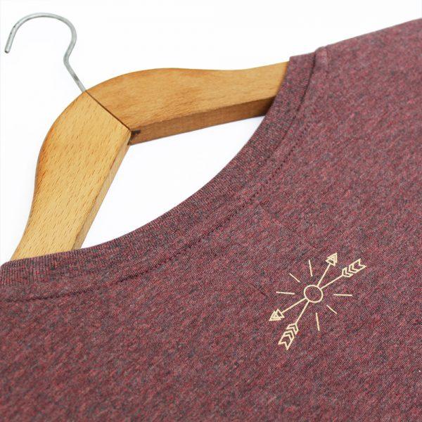 Camiseta orgánica #slowlife. Magnetotermia style. Ecofriendly