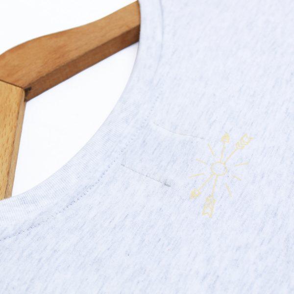 Camiseta orgánica mg Classic. Magnetotermia style. Ecofriendly